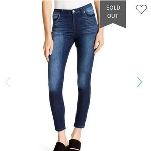 Hudson Jeans High Waisted Ankle Skinny